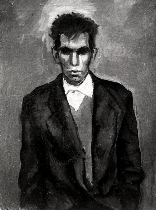 Портрет неизвестного поэта.